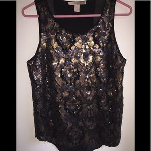 Forever 21 Contemporary Sequin top SZ M 🖤